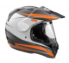 Adventure riding helmet