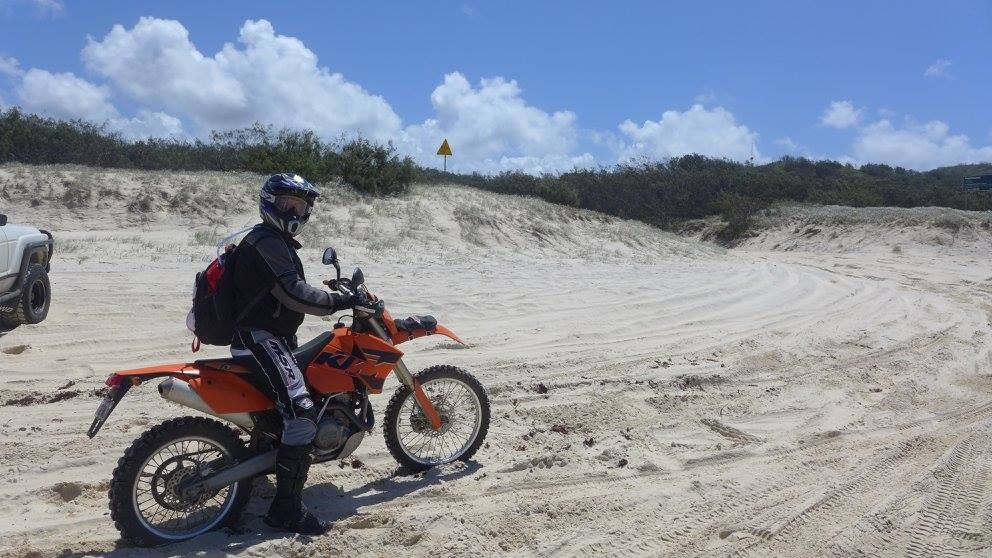 Riding in Sand