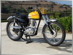 1966 BSA441 scrambler