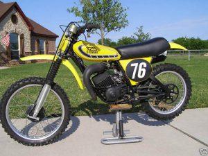 1976 Yamaha YZ125X Air Forks
