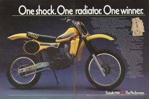 1981 Suzuki RM125 Full Floater