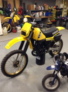 1981 Yamaha YZ250J water cooled