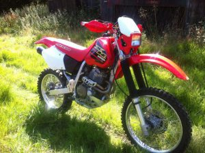 The Honda XR400