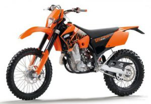 KTM Enduro Bike