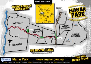 Manar Park map