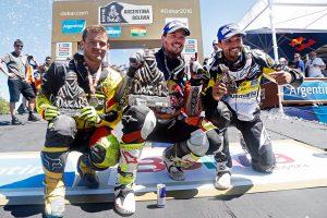 Toby Price 2016 Dakar winner