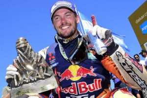 Toby Price Dakar 2016 winner