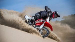Preparing your bike for sand riding