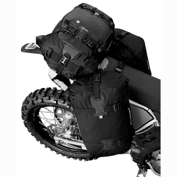 Soft motorcycle panniers