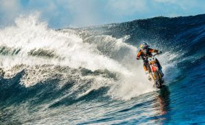 Robbie Maddison on water