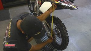 Dirt Bike suspension Sag Adjustment