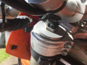 KTM Dirt Bike Rebound damper adjustment
