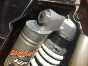 KTM Dirt Bike Compression damper adjustment