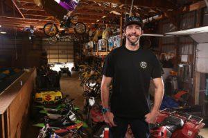 Travis Pastrana garage