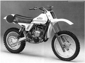 KTM 125 LC 1981