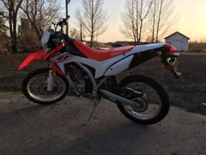 Used dirt bike