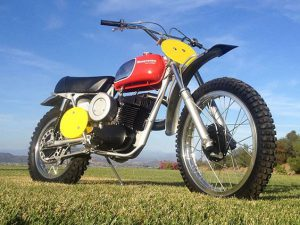 Husqvarna dirt bike history