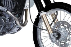 Suzuki DR650 front suspension