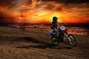 Where can I ride a dirt bike?