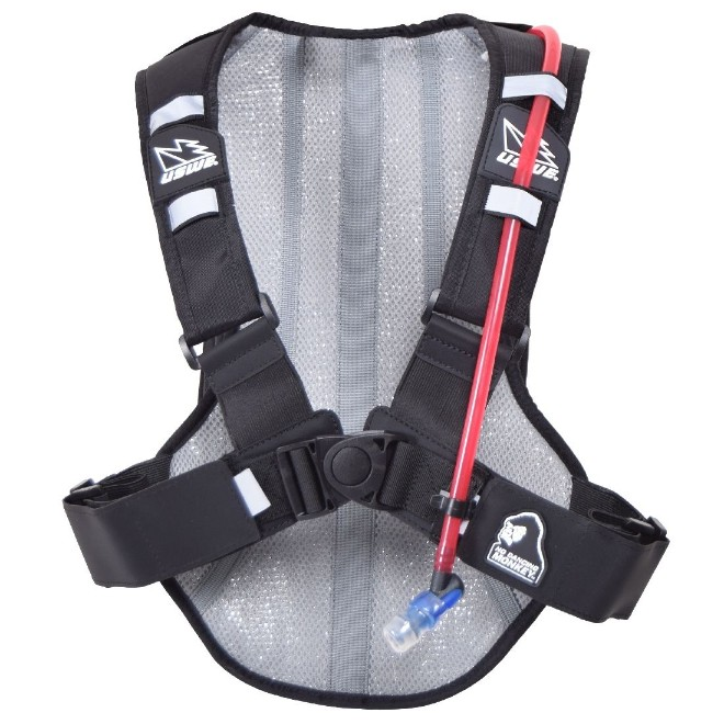 USWE Black Ranger 9L Hydration Pack back panel