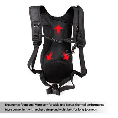 Unigear Tactical Hydration Pack back panel