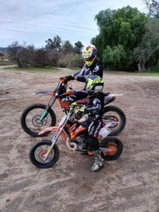 Dirt Bike Riding with Kids