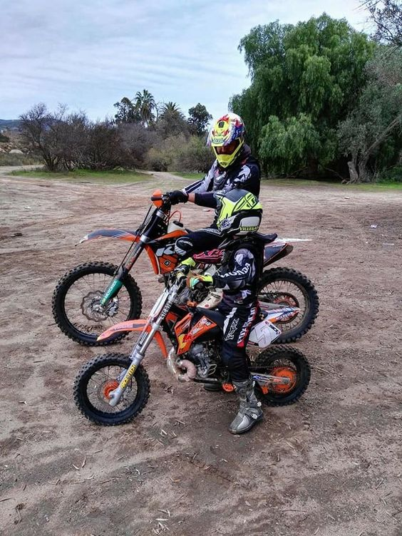 Dirt Bike Riding with Kids