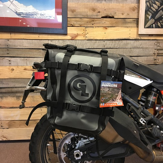 Giant Loop Moto Trekk Panniers Fitted