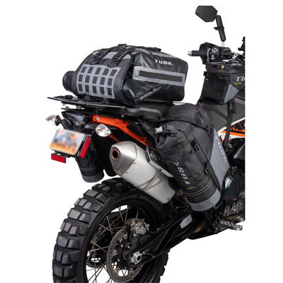 Tusk Highland Rackless Soft Panniers fitted