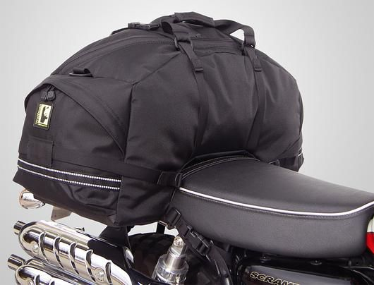 Wolfman Beta Plus Rear Bag fitted