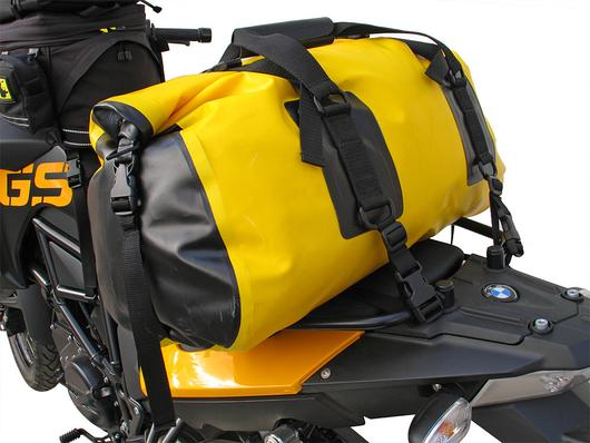 Wolfman Expedition Dry Duffle fitted