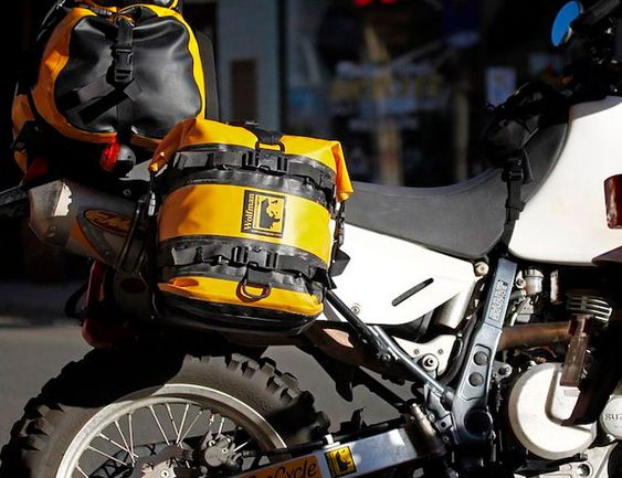Wolfman Expedition Dry Saddlebag fitted