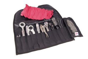 Wolfy Tool Roll open