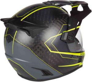 Klim Krios Adventure Helmet rear