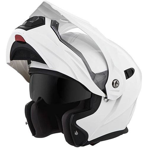 Scorpion EXO-AT950 Dual Sport Modular Helmet open