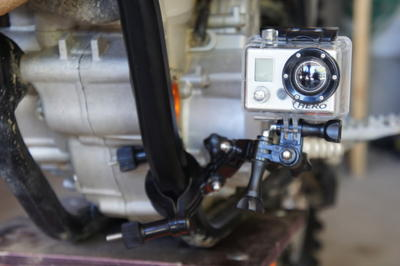 Action cam frame mount