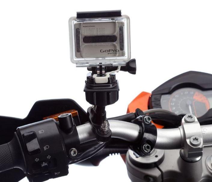 Action cam handlebar mount