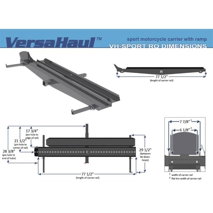 VersaHaul VH-Sportpro bike carrier
