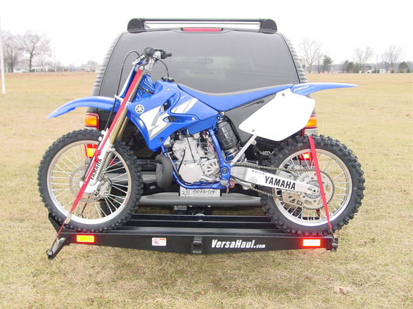 VersaHaul dirt bike hitch carrier