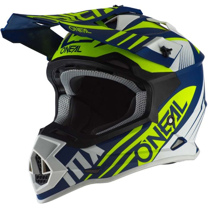 Dirt bike helmet graphics