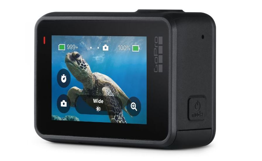 GoPro HERO 7 Black touchscreen