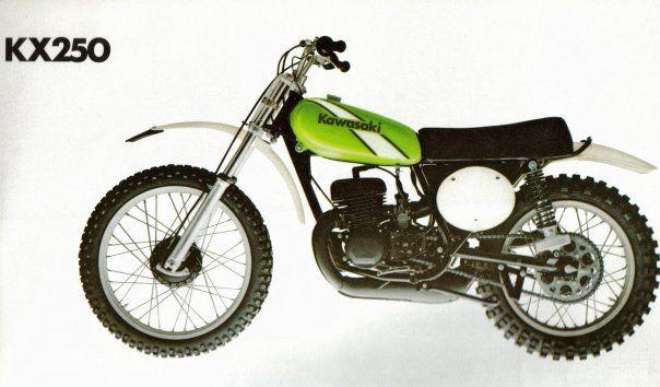 1974 Kawasaki KX250