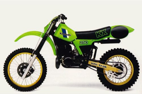 Kawasaki Dirt Bike History
