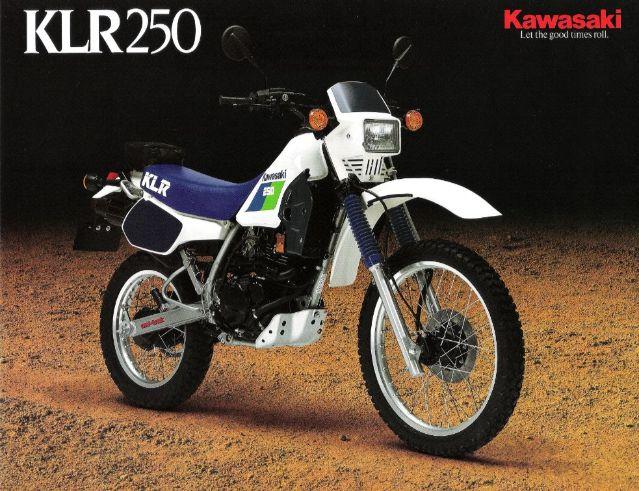 1984 Kawasaki KLR250