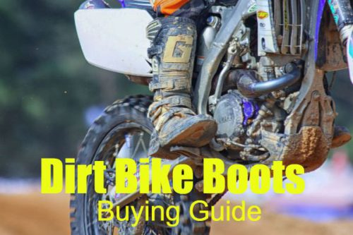 Dirt Bike Boots buying guide