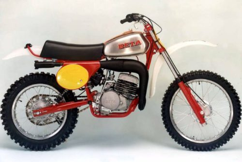 Beta Dirt Bike History
