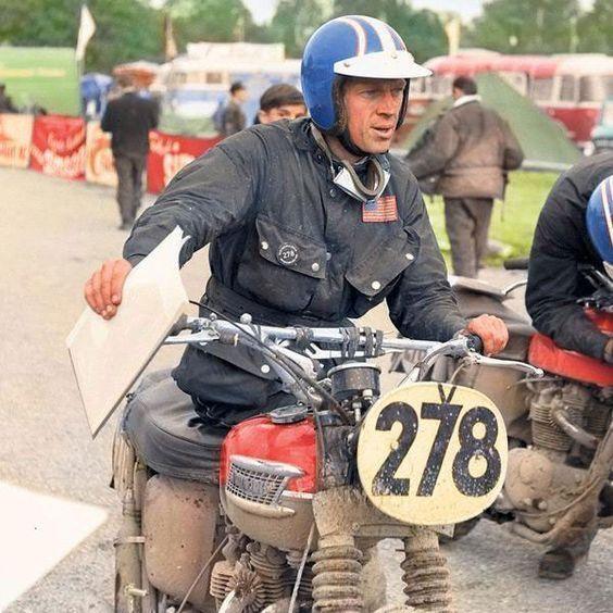 Steve McQueen ISDT 1964
