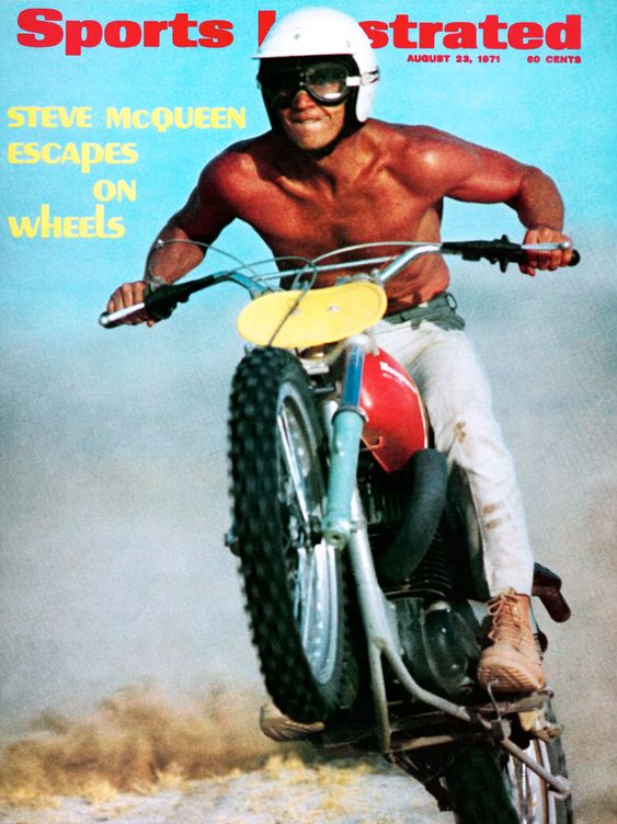 Steve McQueen Sports Illustrated1971