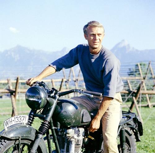 Steve McQueen The Great Escape Triumph