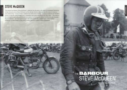 Barbour Jacket steve mcqueen ISDT